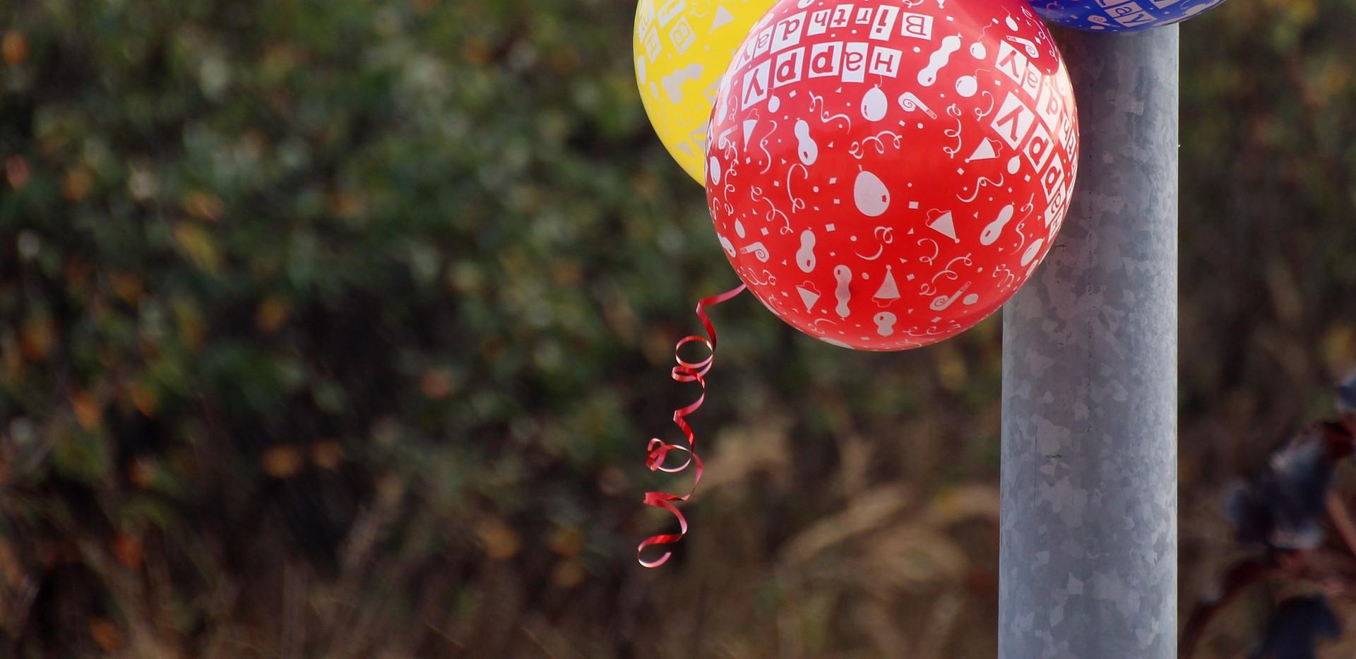 Bedruckte Ballons
