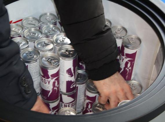 Getränkeverteilung