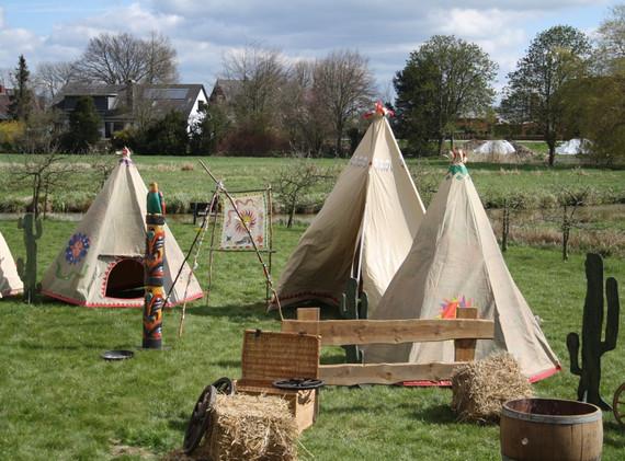 Indianer Camp