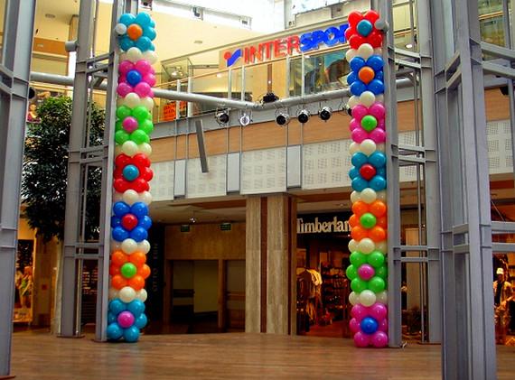 Ballonsäulen