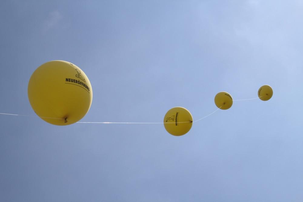 Riesenheliumballons