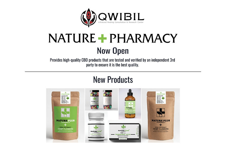 Qwibil - Nature+Pharmacy - CBD Products - Tacoma Washington
