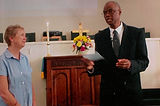 Val Mobley Father Rudi Cleare Negro Spir