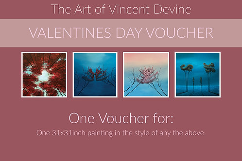 Voucher for original 31x31inch painting