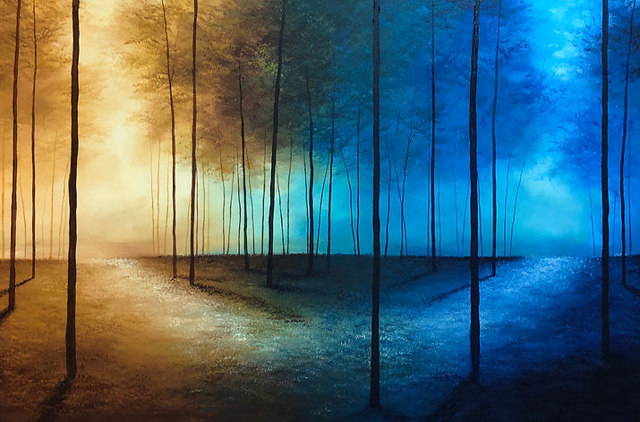 THE INBETWEEN | Acrylic on Canvas | 100x150cm | €4500