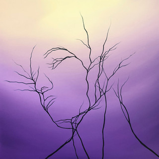 NATURES TILT  | Acrylic on Canvas | 50x5