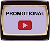 promotional video samples button