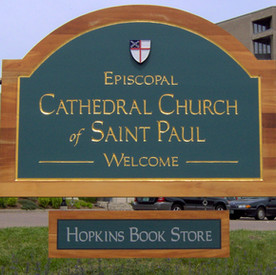 Cathedral Church of Saint Paul Sign
