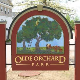 Olde Orchard Park Sign