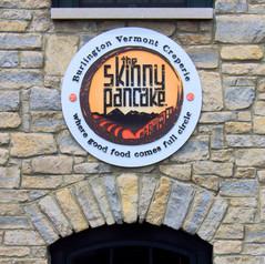 The Skinny Pancake Sign