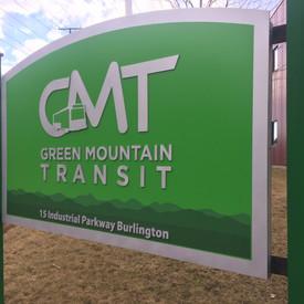 GMT - Green Mountain Transit Sign