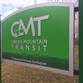 GMT - Green Mountain Transit Sign