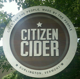 Citizen Cider Sign at Flynn Ave.