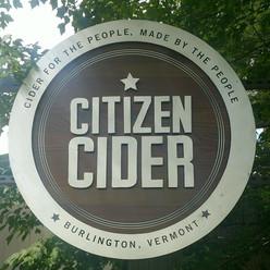 Citizen Cider Sign at Flynn Ave.