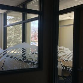 Lansing Window Frosting
