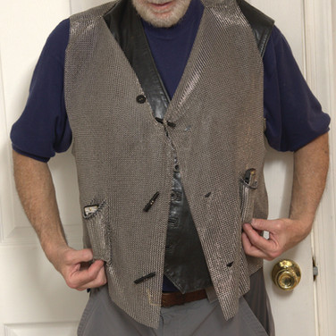 Vest with Harmonic Pockets