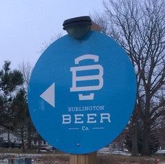 Burlington Beer Company Sign