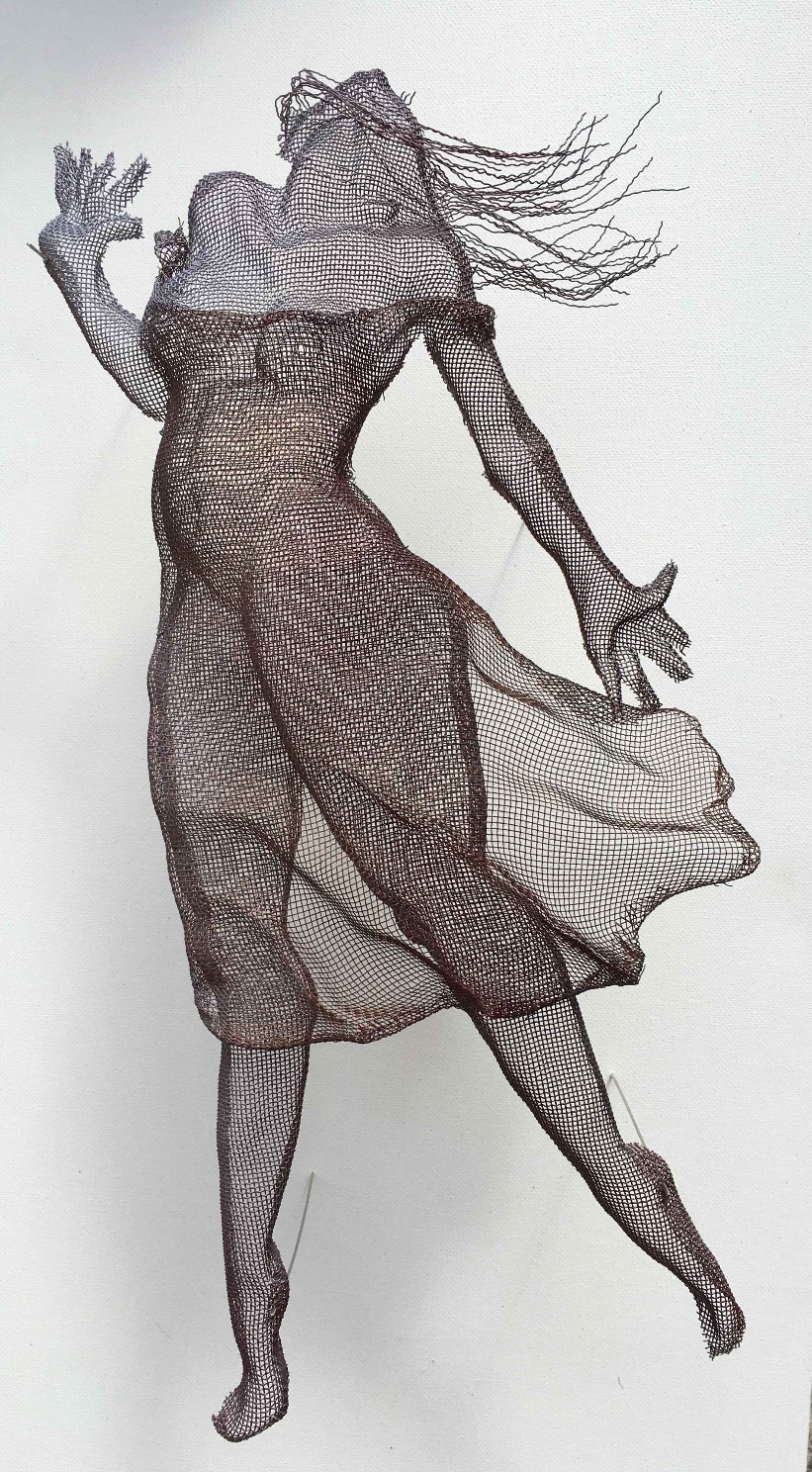 wire mesh sculpture
