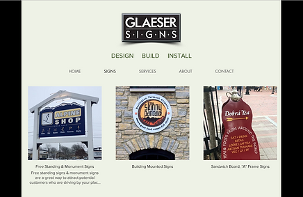 Glaeser Signs