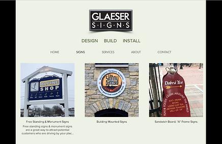 Glaeser Signs