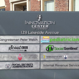 Innovation Center Sign