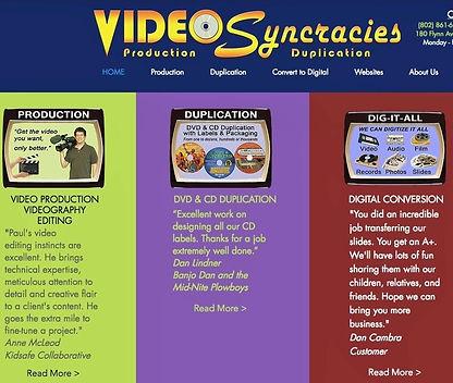 VIDEOSyncracies
