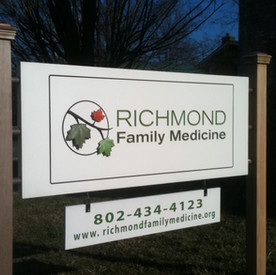 Richmond Family Medicine Sign