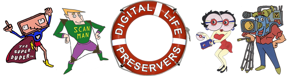 convert to digital video, photos, audio, film