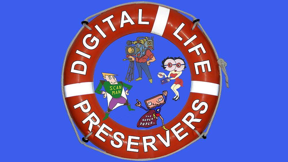 convert video, photos, slides, film. audio to digital