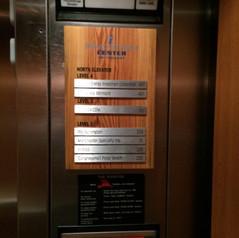 Innovation Center Elevator Signs