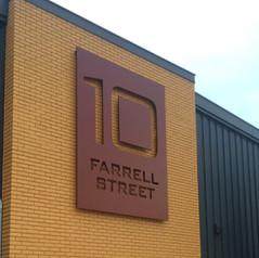 10 Farrel Street Sign
