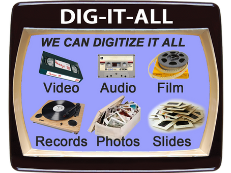 How to Store and Share Digitized Video, Film, Photos, Audio and More