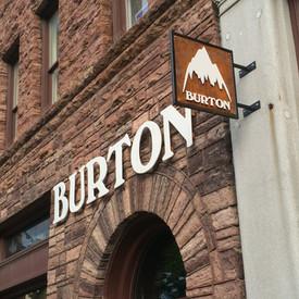 Burton Store Sign Burlington VT