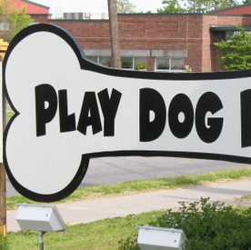 Play Dog Play Sign