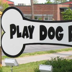 Play Dog Play Sign