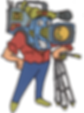 videosyncracies camera head dude cartoon