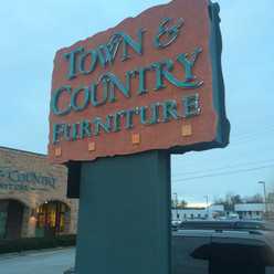 Town & Country Furniture Sign