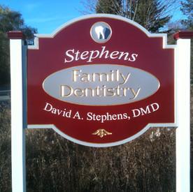 Stephens Family Dentistry Sign