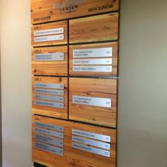 Innovation Center Directory Sign