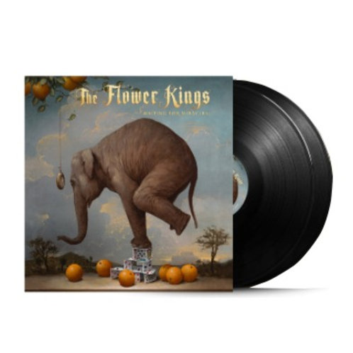 The Flower Kings - Waiting for Miracles DoubleLP Black