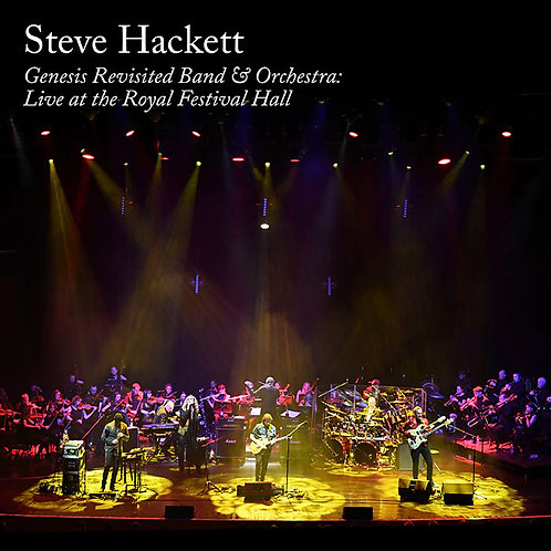 Steve Hackett - Live at the Royal Festival Hall 2CD/DVD or 2CD/BluRay