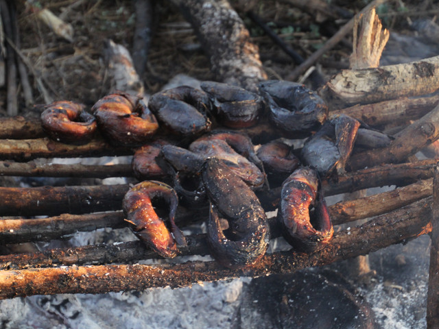 Smoked fish caught illegally
