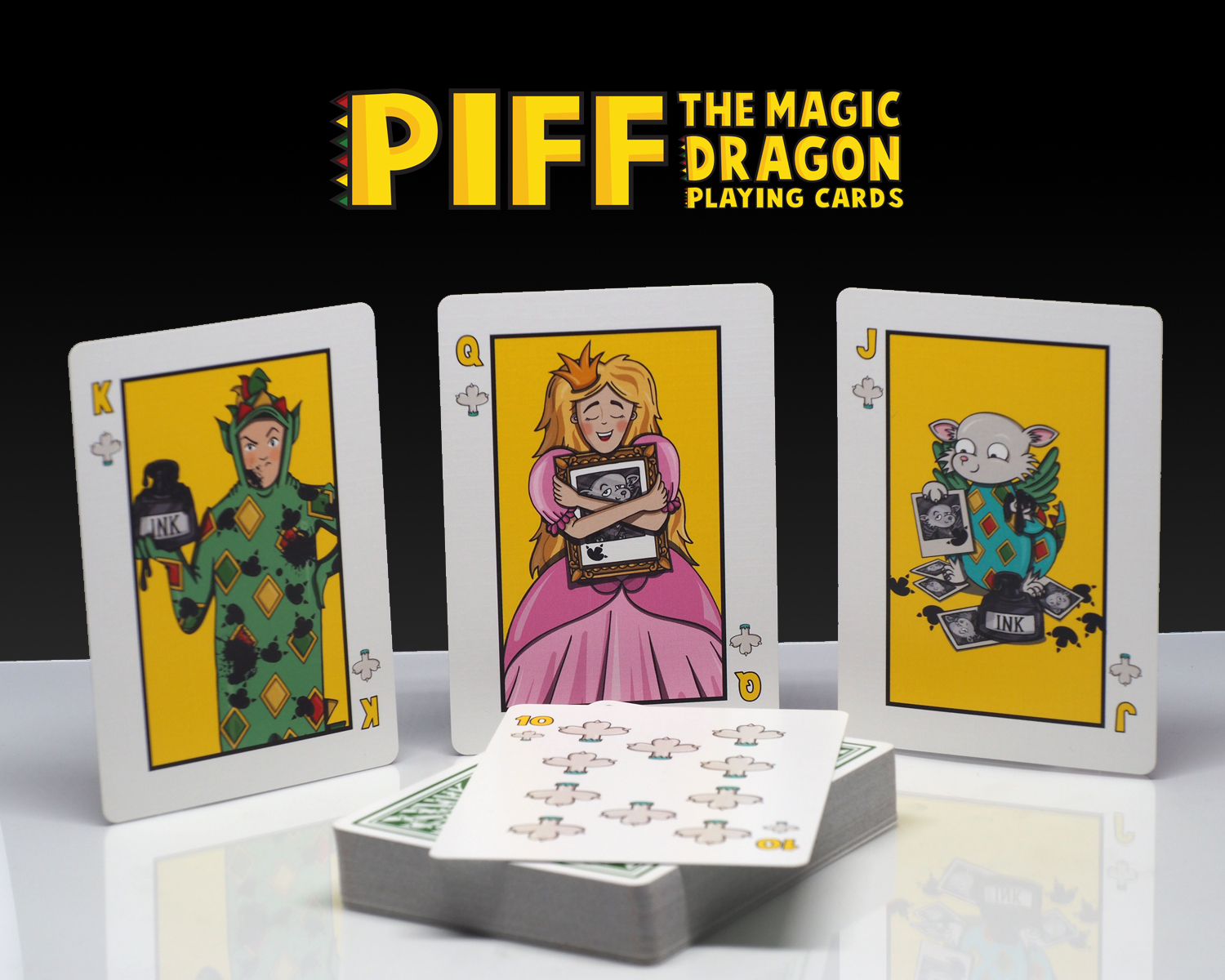 Piff Deck Clubs Court Cards