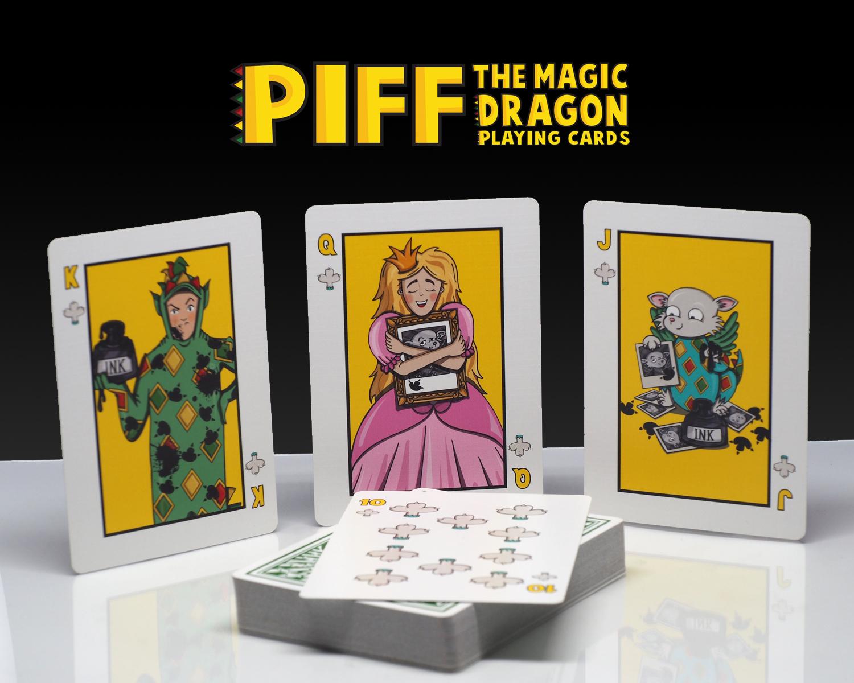 Piff Deck Clubs Court Cards