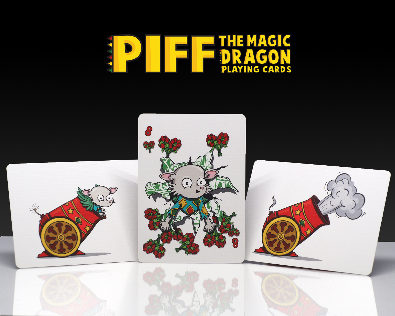 Piff Deck Cannon Cards