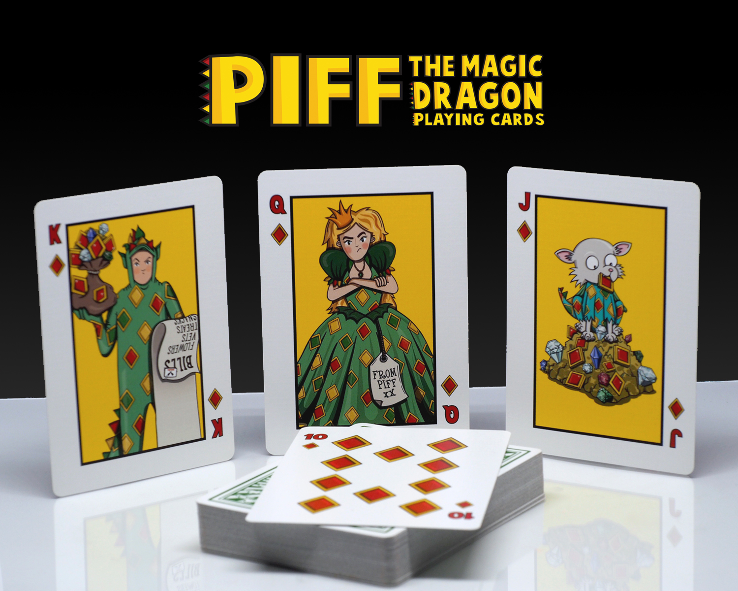 Piff Deck Diamond Court Cards