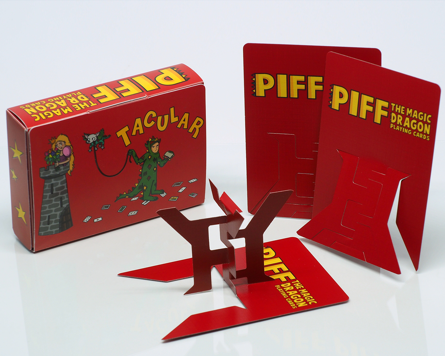 Piff Deck with Harbin Fold Out Cards