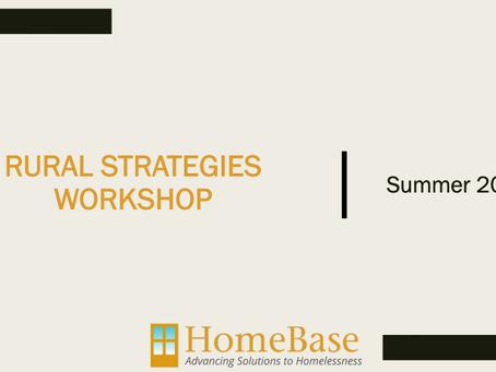 Strategies for Rural Communities