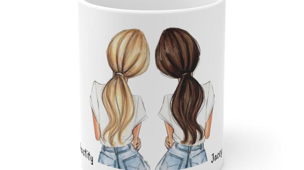 Ceramic Mug 11oz (Names are customizable)