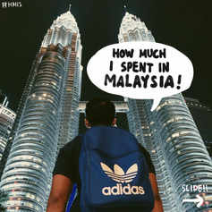 How Much I Spent in Malaysia